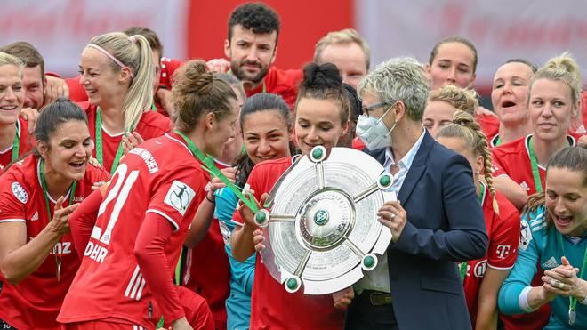 Die Frauen des FC Bayern sind zum vierten Mal Deutscher Meister