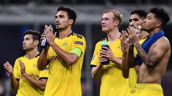 Borussia Dortmund war in Mailand zu harmlos