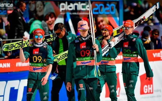 Die deutschen Skispringer sind beim Heim-Weltcup in Klingenthal gefordert