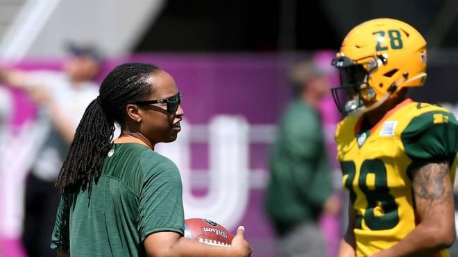 Jennifer King steht offenbar vor einem Engagement in der NFL