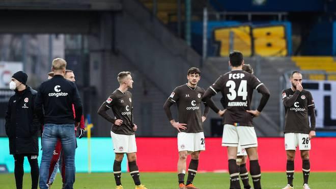 Der FC St. Pauli hatte zuletzt wenig Grund zum Jubeln