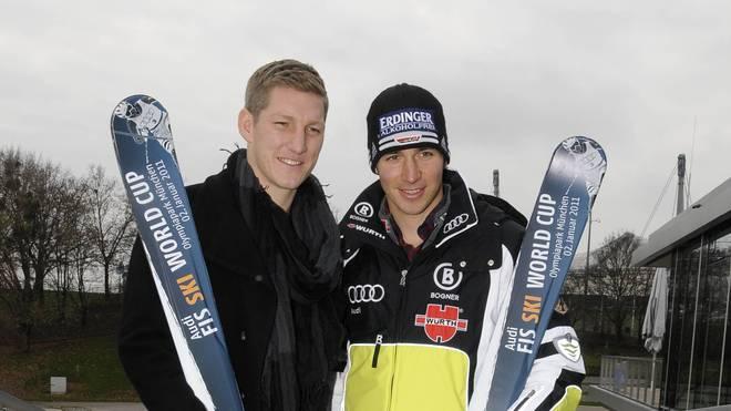 Bastian Schweinsteiger und Felix Neureuther fuhren einst zusammen Ski