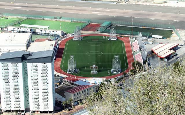 Im Victoria Stadium von Gibraltar sollte das Spiel eigentlich stattfinden