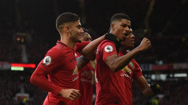 Marcus Rashford setzte beim Erfolg von Manchester United den Schlusspunkt