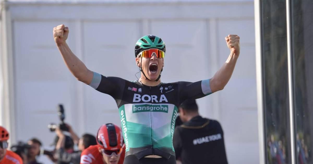 Radsport: Pascal Ackermann gewinnt Auftakt der UAE-Tour in Dubai