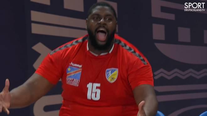 Gauthier Mvumbi freute sich über den Sieg