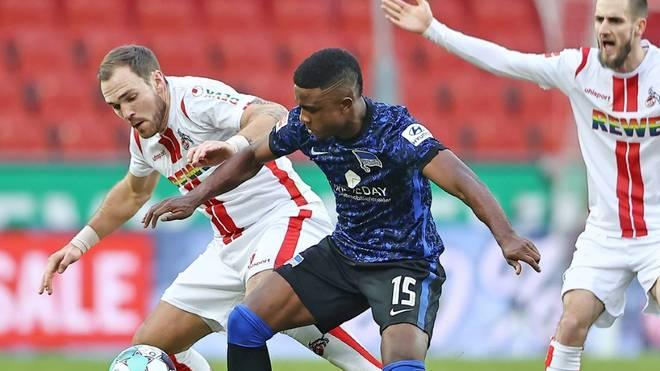 Köln bleibt daheim nach dem 0:0 gegen Hertha sieglos