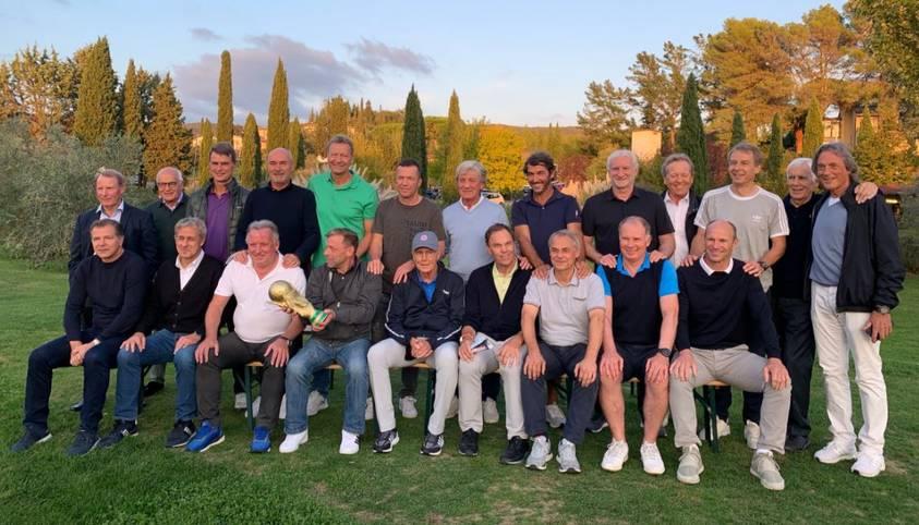 Die Weltmeister von 1990 treffen sich in der Toskana und lassen das Turnier in Italien wieder aufleben.