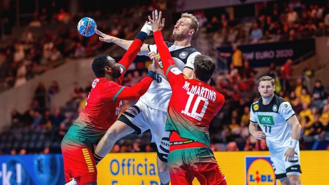 Julius Kühn (oben) war im Spiel um Platz fünf bester deutscher Torschütze