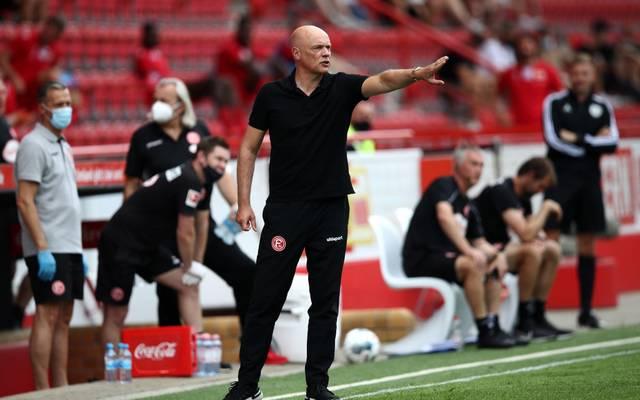 Uwe Rösler übernahm als Trainer bei Fortuna Düsseldorf von Friedhelm Funkel
