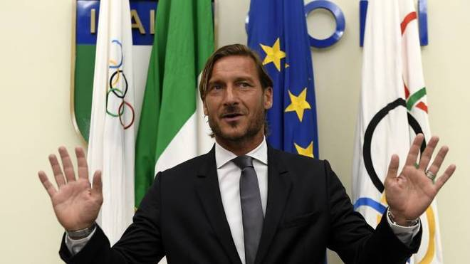 Francesco Totti spielte in seiner Karriere nur für den AS Rom