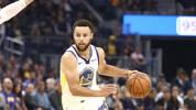 Stephen Curry von den Golden State Warriors könnte nach seiner Verletzung frühzeitig zurückkehren
