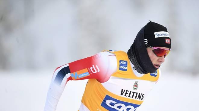 Johannes Hösflot Klaebo könnte seine WM-Teilnahme absagen