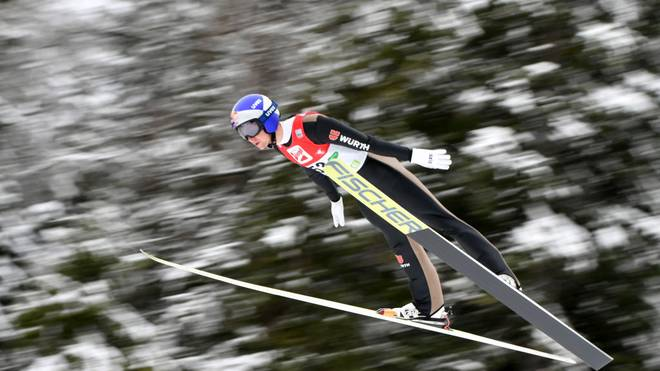 Vinzenz Geiger sicherte sich in Seefeld Platz zwei