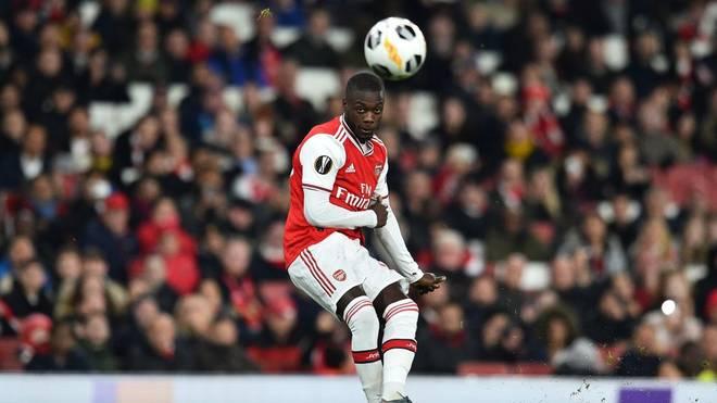 Der FC Arsenal siegt durch zwei Freistoß-Tore von Nicolas Pépé