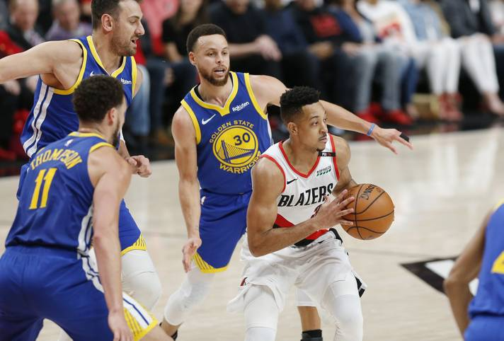 Seit der Saison 2013/14 sind die Portland Trail Blazers Stammgast in den Playoffs. Für den ganz großen Wurf - den NBA-Titel - hat es aber nie gereicht. Am nächsten dran war die Franchise aus Oregon in diesem Jahr. In den Western Conference Finals mussten sich die Blazers aber der Übermacht der Golden State Warriors beugen (0:4)