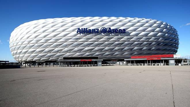 Die Münchner Allianz Arena bleibt EM-Spielort