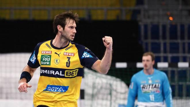 Uwe Gensheimer erzielte neun Tore für die Rhein-Neckar Löwen