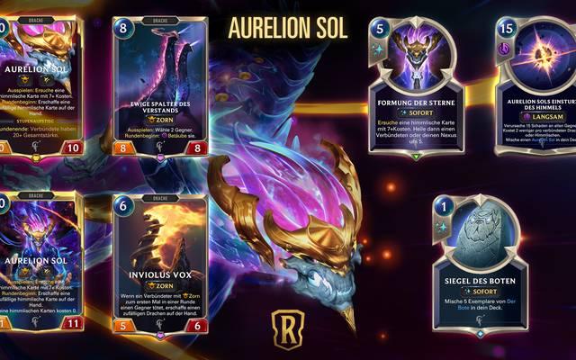 Aurelion Sol ist der neuste targonische Champion für Legends of Runeterra