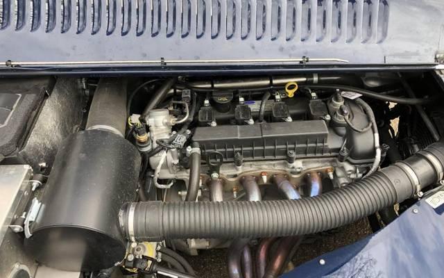 Der Vierzylinder-Benziner, den die Briten in den Morgan Plus4 einbauen, stammt von Ford