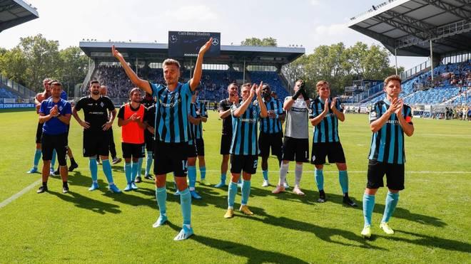 Waldhof Mannheim feierte einen 4:3-Sieg gegen den MSV Duisburg