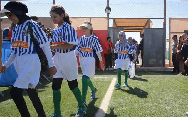 Für das Zaatari Flüchtlingslager spendeten auch schon die Klubs aus La Liga Trikots und Ausrüstung.
