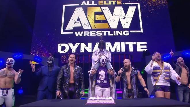Brodie Lee Jr. bekam bei AEW Dynamite eine würdige Geburtstagsfeier