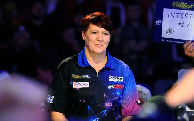 Lisa Ashton verlor 2019 in der 1. Runde mit 1:3 gegen Jan Dekker