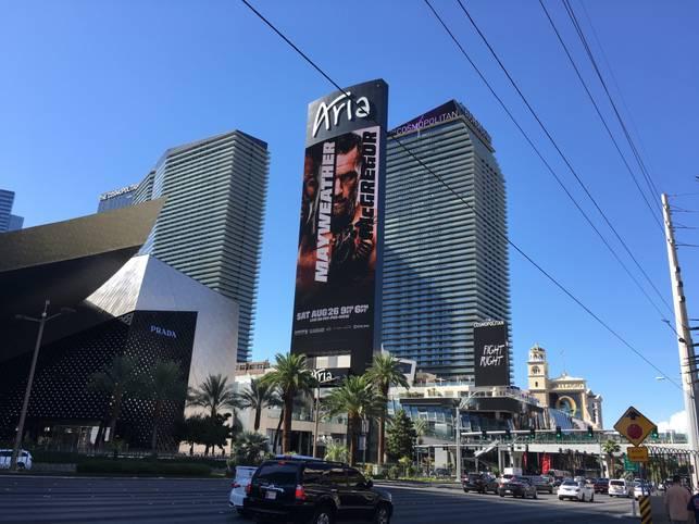In Las Vegas herrscht ein wahrer Mega-Fight-Hype. SPORT1 ist vor Ort und hat die Bilder zu Mayweather vs. McGregor (So., ab 3 Uhr LIVE auf DAZN)