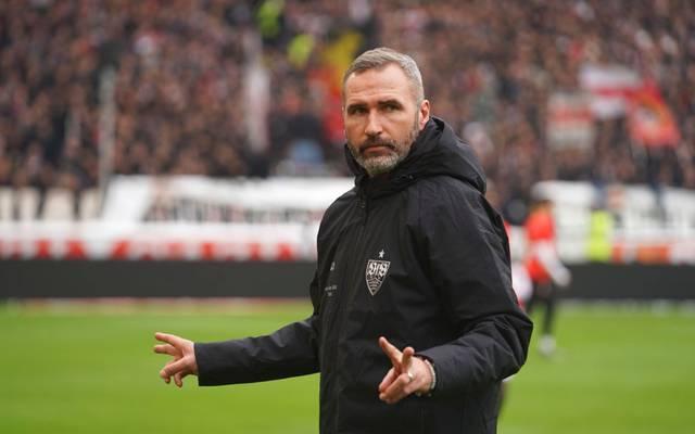 Trainer Tim Walter steckt mit dem VfB Stuttgart in der Krise