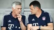 Willy Sagnol (rechts) soll die Bayern nach der Entlassung von Carlo Ancelotti wieder in die Erfolgsspur führen