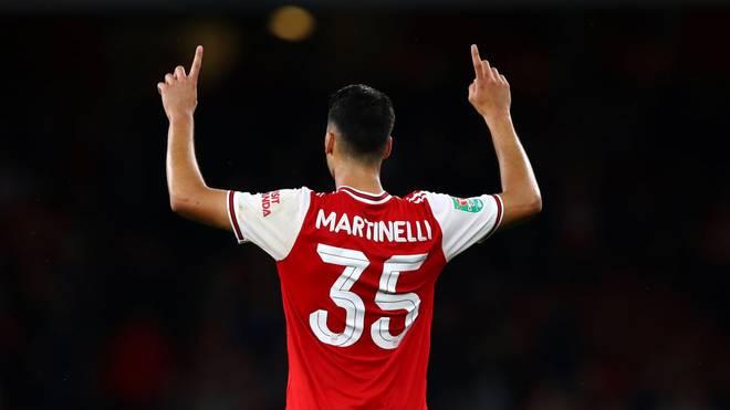 Gabriel Martinelli bewundert Cristiano Ronaldo, Neymar und Lionel Messi