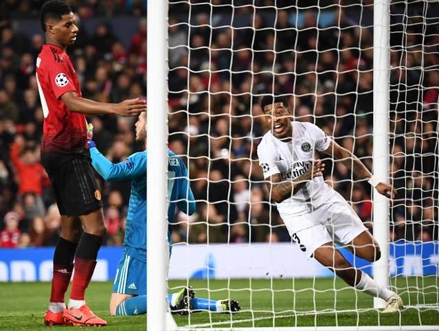 Bittere Enttäuschung für Manchester United, toller Abend für Paris Saint-Germain: Das Achtelfinal-Hinspiel in der Champions League löste in den internationalen Medien ein geteiltes Echo aus