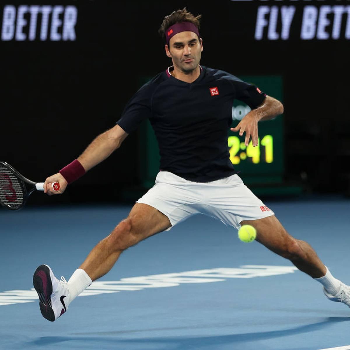 Federer will ins Viertelfinale