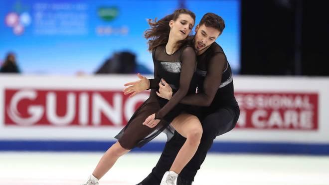 Gabriella Papadakis und Guillaume Cizeron haben ihren sechsten Titel in Folge verpasst