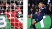 Kylian Mbappe für PSG gegen Lyon