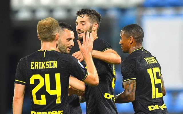 Roberto Gagliardini war einer der Torschützen beim klaren Sieg von Inter Mailand
