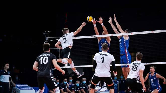 Deutschen Volleyballer kassieren vierte Niederlage