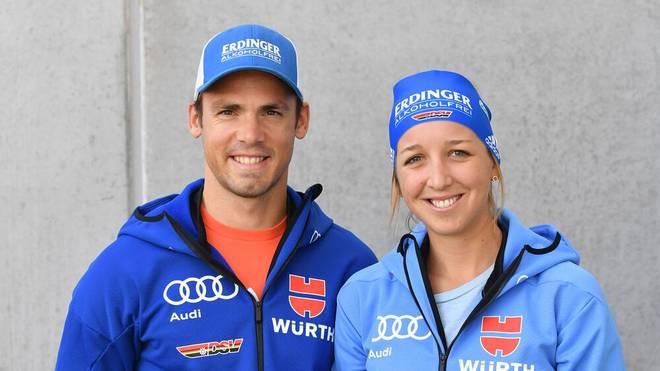Simon Schempp und Franziska Preuß sind privat seit 2015 ein Paar