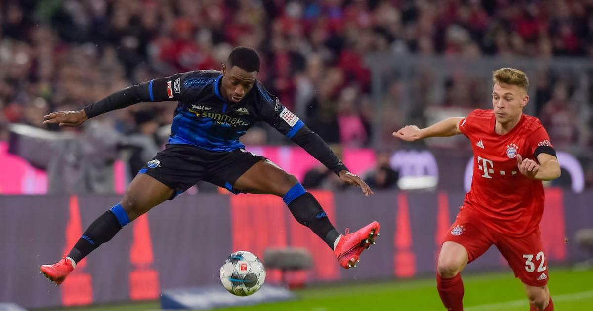 FC Bayern mit Innenverteidiger Kimmich gegen SC Paderborn