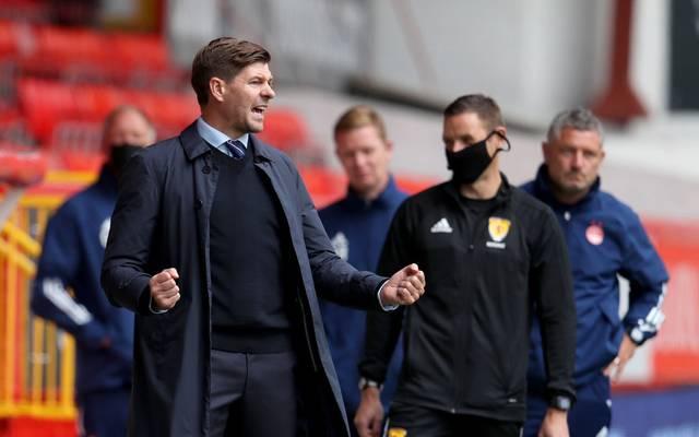 Steven Gerrard trainiert die Glasgow Rangers