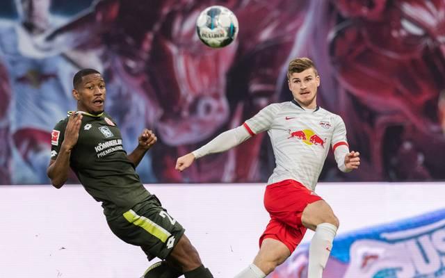 Im Hinspiel erzielte RB Leipzig gegen Mainz acht Tore