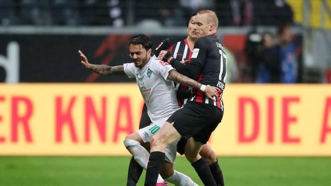 Eintracht Frankfurt trifft im DFB-Pokal auf Werder Bremen