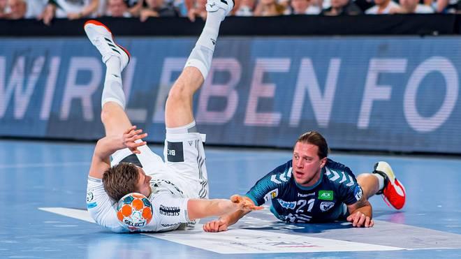 Mattias Zachrisson (r.) fällt bei den Füchsen Berlin weiter verletzt aus