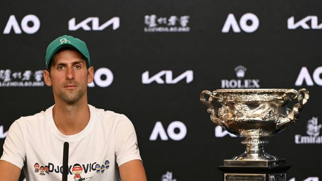 Novak Djokovic zieht mit Roger Federer gleich