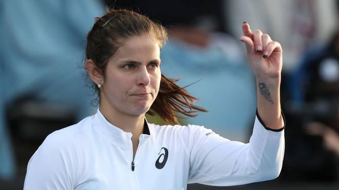 Julia Görges zieht in Auckland in die nächste Runde ein