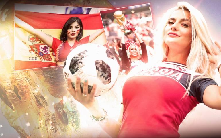 Heiß auf den WM-Pokal sind die Teams auf dem Spielfeld. Abseits davon fiebern auch viele schöne Frauen mit: Bühne frei für sexy Zuschauerinnen der WM