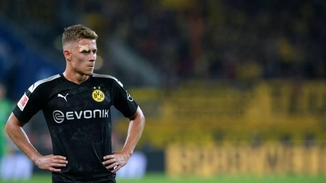 Thorgan Hazard wird dem BVB aufgrund einer Rippenverletzung für mehrere Wochen fehlen