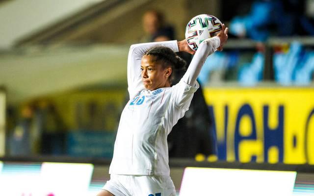 Sveindis Jane Jonsdottir läuft künftig für den VfL Wolfsburg auf