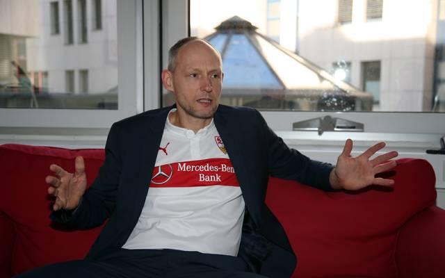 Christian Riethmüller bewirbt sich beim VfB Stuttgart für das Amt des Präsidenten